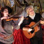 Miss Cat violon et Pierre Garbarini guitare